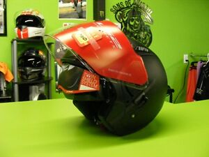 3/4 Helmet with Sunvisor - Matte Black - XS to XL at RE-GEAR Kingston Kingston Area image 1