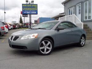 2007 Pontiac G6 Convertible++FINANCEMENT+MAISON++