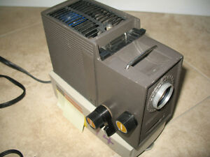 Old 35mm Singer Film strip Projector.