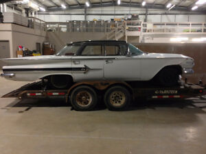 Wanted parts car for 1960 Chevrolet 4 door Impala