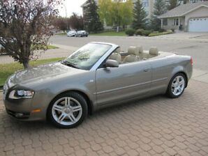 2007 Audi A4 2.0 Turbo Convertible