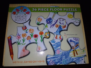 Create Your Own Puzzle - 36 Piece Floor Puzzle