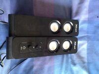 Twin speakers by trust