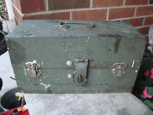 Vintage Summers Metal Tackle Box / Tool Box