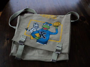 Vintage Kermit back pack
