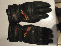 Motorcycle gloves size small/medium