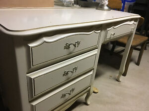 French Provincial Desk and matching Night stand Oakville / Halton Region Toronto (GTA) image 1