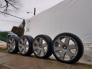 """Mags 18"""" OEM Audi S4 B6 & Brand New Tires"""