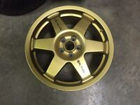"Speedline 5x100 17"" wheels"