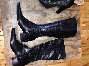 Chaussures Gr 6 10$ et bottes longue italienne 15$ Saguenay Saguenay-Lac-Saint-Jean image 3