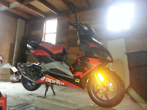 2007 Aprilia SR50 R Factory with Full Malossi MHR Engine