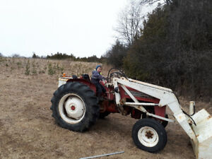1961 international tractor for sale