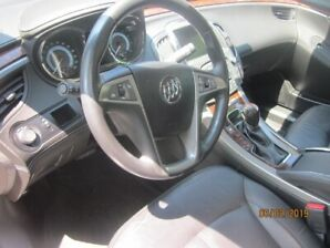 2012 Buick LaCrosse Black leather Sedan