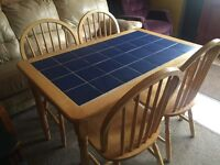 5ft Dining Table & Chairs