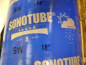 "Excellent condition 18"" diameter Sonotube"