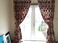 Dunelm full length curtains. Two sets the same.