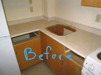 Kitchen countertop and bathroom vanity installer on weekends