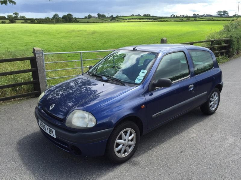 2000 renault clio alize 1 4 in bangor  county down gumtree manual renault clio 2000 1.6 renault clio 2000 manual pdf