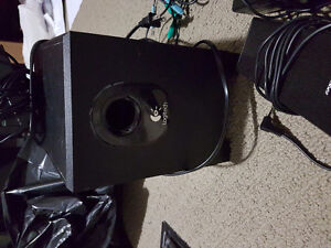 Logitech speakers sound system for computer
