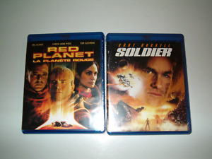 Red Planet & Soldier (2 Blu-ray movies) (Brand New)