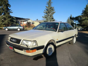 Just Listed! Audi V8 AWD 4X4 With New Tires & Brakes