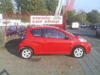 2011 11 Reg Citroen C1 1.0i 68 VTR+ 3 Door Red 46000,£20 TAX,A/C,ALLOYS