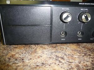 SOLID STATE PUBLIC ADDRESS AMPLIFIER 20 North Shore Greater Vancouver Area image 2