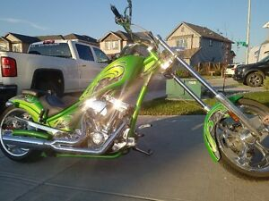 HULK GREEN AMERICAN IRON HORSE TEXAS CHOPPER