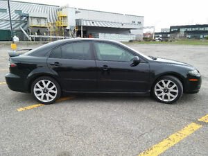 (negotiable) 18 inch Mazda 6 GT OEM mags and tires, clean