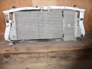 02 Dodge Diesel Intercooler + Radiator in the Frame Cradle
