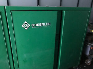 Greenlee Tool Cabinet