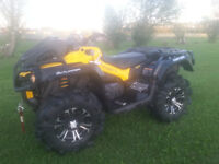 REDUCED!!! 2014 Can Am Outlander XMR 1000 - Only 290 KM's
