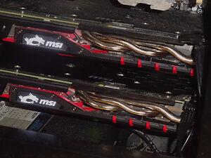 x2 - MSI Radeon R9 380 GAMING 4G 256-Bit GDDR5 4GB DirectX 12