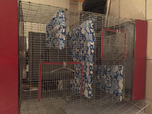 4 level wire rat cage