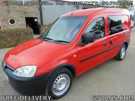 2009 09 VAUXHALL COMBO, 5 SEAT CREW VAN, F.S.H., ONE OWNER FROM NEW,. MPV