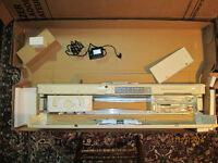 never used: Singer 580 knitting machine