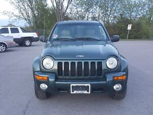 JEEP LIBERTY 4X4 *** FULLY LOADED SUV *** CERTIFIED $4995