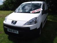 One Owner Peugeot Partner 1.6HDi ( 90 ) L1 850 FSH NO VAT Ormskirk