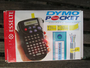 Esselte Dymo Pocket Electronic Labelmaker Like NIB incls.4 tapes London Ontario image 3
