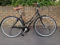 Bike ladies old style bike one excellent condition rides faultless