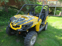 2011 Can Am Commander 1000 with many Upgrades