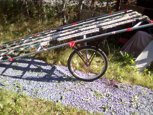 Handmade made boat-canoe-BOAT-CARRIER-12 FOOTX4 FOOT 50.00