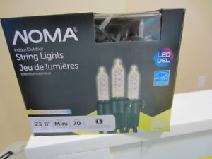 Christmas Lights - NOMA LED's -working perfectly