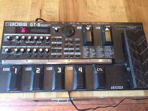 Boss GT-8 multi effects.