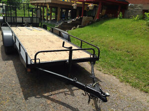 heavy duty /landscape trailer -Great shape