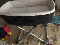 Mamas & papas travel cot with stand