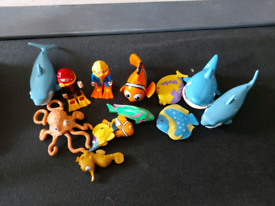 Selection of small Sea Themed toys
