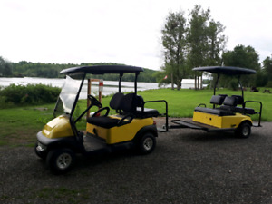 Golf Carts With Trailers