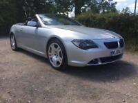 BMW 645 4.4 Auto Ci Convertible Stunning Car With FSH