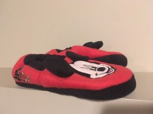 Disney Mickey Mouse Toddler Size 11-12 Slippers